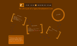 The Life Cycle of a Typical Employment Case