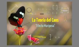 Copy of Teoría del Caos
