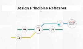 Design Elements Refresher