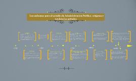 Copy of Los enfoques para el estudio de Administración Publica: oríg