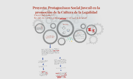 Proyecto: Protagonismo Social Juvenil en la promoción de la
