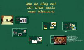 Aan de slag met ICT-STEM-tools voor kleuters