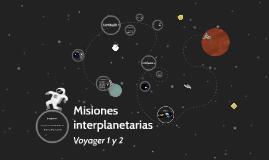 Misiones interplanetarias