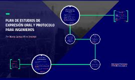 PLAN DE ESTUDIOS DE EXPRESIÓN ORAL Y PROTOCOLO PARA INGENIER