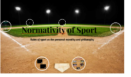 Normativity of Sport