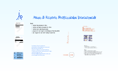 Atlas & Reports Professional Development