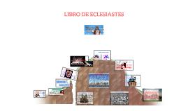 LIBRO DE ECLESIASTES