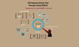 DDI Implementation Plan: Oswego County BOCES