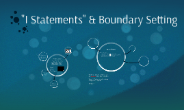 I Statements & Boundaries