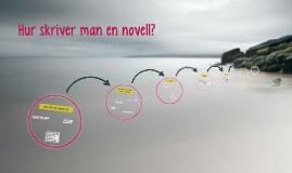 Hur skriver man en novell?