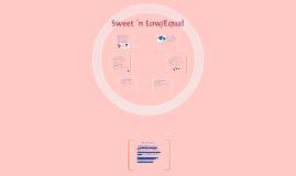 Sweet 'n Low/Equal
