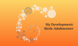 My Development: Birth-Adolescence