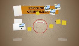 PSICOLOGÍA CRIMINALISTA