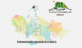instrumentación y ejecución de la auditoría