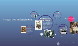 Franceses en la Historia del Perú