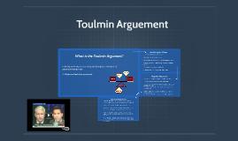 Toulmin Arguement