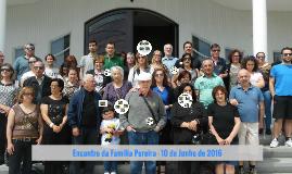 Encontro da Familia Pereira - 10 de Junho de 2016