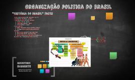 Organização politica do brasil