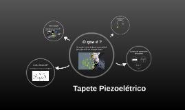 Tapete Piezoelétrico