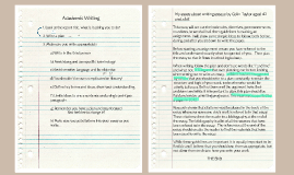 Academic Writing - Eng Report