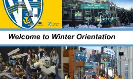 Winter Orientation 2018