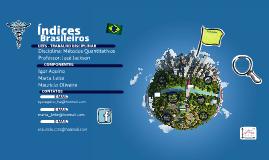 Índices Brasileiros