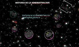 Copy of LINEA DE TIEMPO ADMINISTRACION