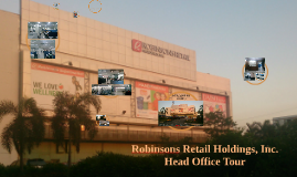 Robinsons Retail holdings, inc.