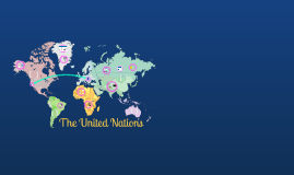United Nations - Civics Culminating