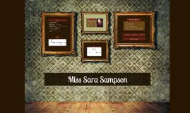 Miss Sara Sampson_Allgemeines