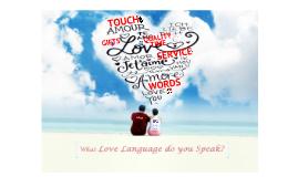 Copy of 5 love languages