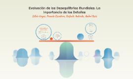 Evaluación de los Desequilibrios Mundiales: La Importancia d