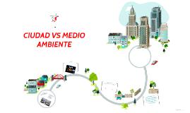 LA CIUDAD VS MEDIO AMBIENTE