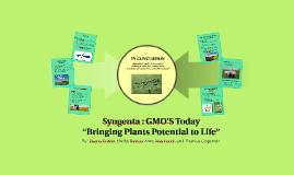 Syngenta: GMOS Today