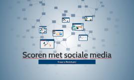 Scoren met sociale media