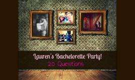 Lauren's Bachelorette Party