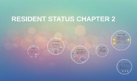 Copy of Resident Status