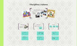 Disciplina y valores