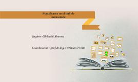 Planificarea unui link de microunde