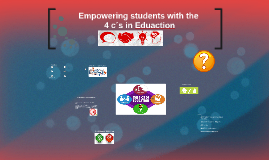 Empowering students with the 4 c´s in education