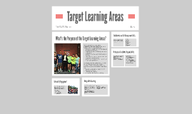Target Learning Areas