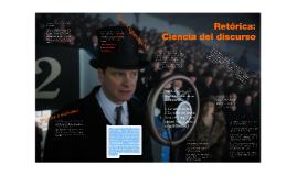 Retórica.ciencia del discurso