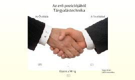 Az erő pozíciójából - Tárgyalástechnika