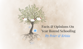Copy of Facts & Opinions On Year Round Schooling