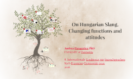 On Hungarian Slang. Changing functions and attitudes