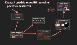 Kryzys i upadek republiki