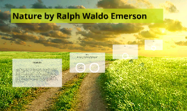 Nature by Ralph Waldo Emerson