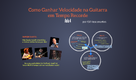 Guitar College - Velocidade - Video 4