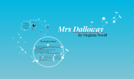 Copy of Mrs Dalloway