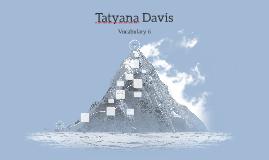 Tatyana Davis